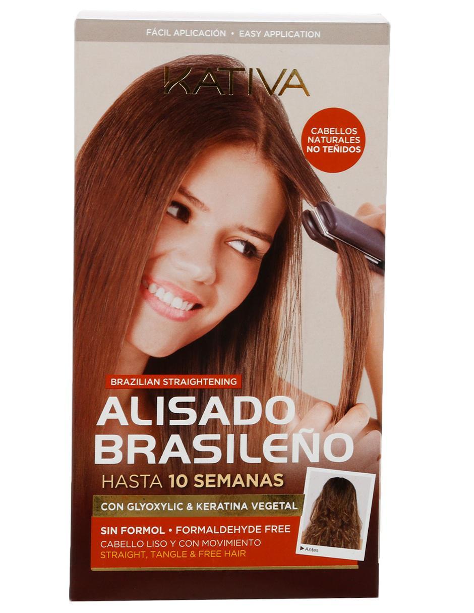 Tratamiento para alisar el cabello Kativa fe2696bb0340