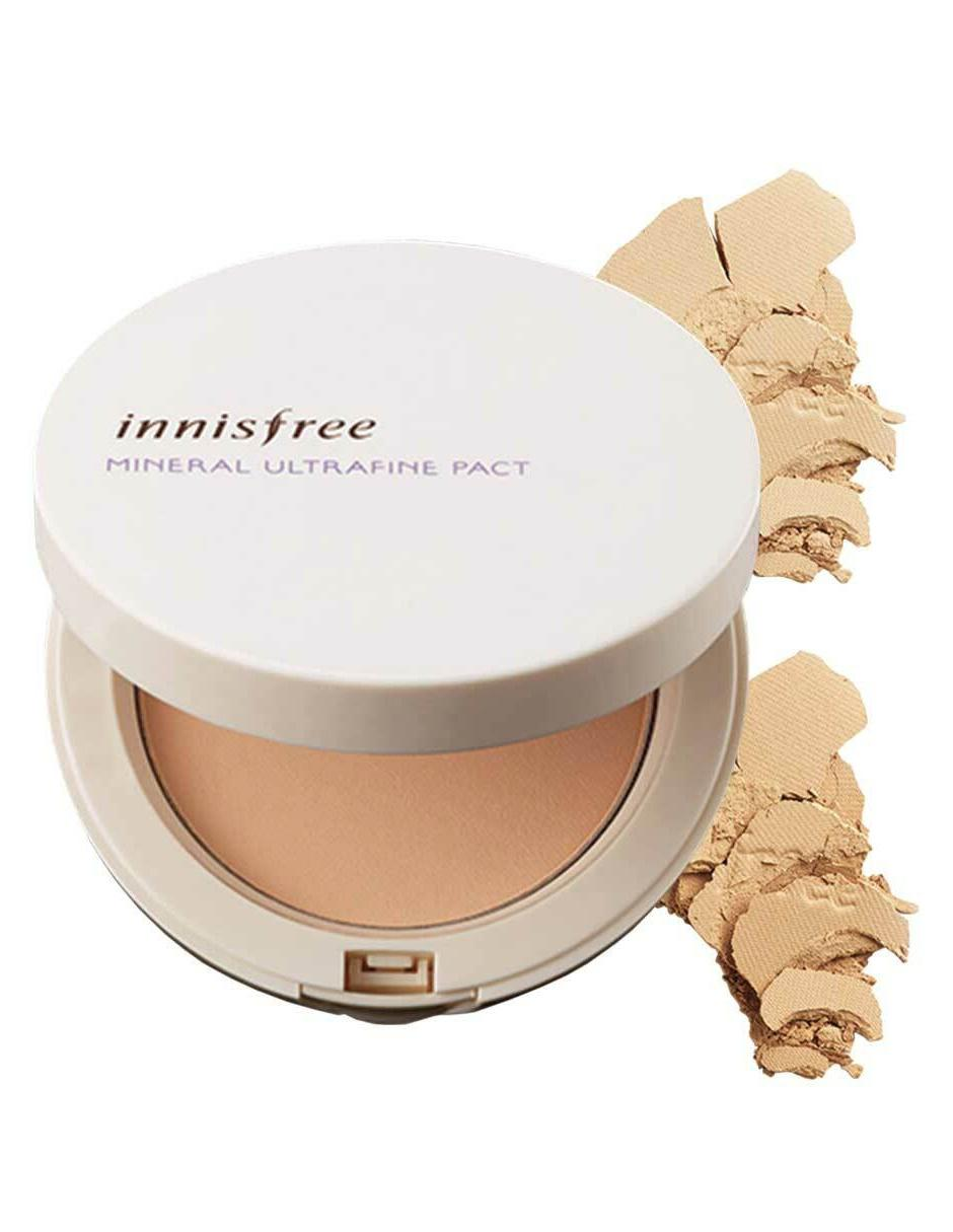a5eda32aa Polvo compacto Innisfree Mineral Ultrafine Pact